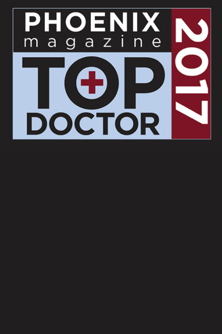 2017 Top Doctor in Phoenix Magazine