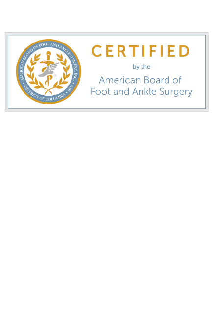 Dr. Harlan receives recertification in Reconstructive Rearfoot/Ankle Surgery